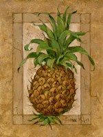 Pineapple Pizzazz I Fine Art Print