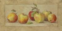 Apple Fresco Framed Print