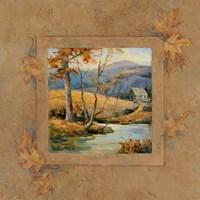 Autumn Lodge I Fine Art Print