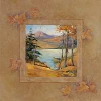 Autumn Lodge II Fine Art Print