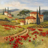 Tuscan Dream II Framed Print