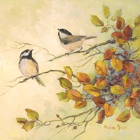 Birds of Autumn I Fine Art Print
