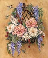 Hummingbird Floral Fine Art Print