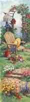Spring Garden Panel I Fine Art Print