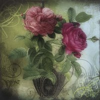 Tea and Roses II Fine Art Print