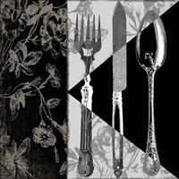 Dinner Conversation I Fine Art Print