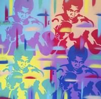 Abstract Boxer Fine Art Print