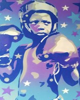 Boxer Star 2 Fine Art Print