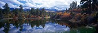 Reflection of Clouds in Water, San Juan Mountains, Colorado Fine Art Print