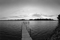 Pier in Lake Minnetonka, Minnesota Fine Art Print