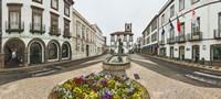 Ponta Delgada City Hall, Sao Miguel, Azores, Portugal Fine Art Print