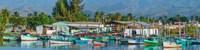 Boats Moored at a Harbor, Trinidad, Cuba Fine Art Print