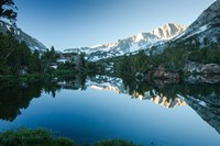 Reflection of Mountain in a River, Sierra Nevada, California Fine Art Print