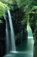 Waterfall Miyazaki Japan Fine Art Print