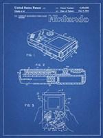 Blueprint Nintendo Game Boy Patent Fine Art Print
