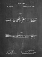 Chalkboard Holland Submarine Patent Fine Art Print