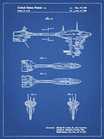 Blueprint Star Wars Nebulon B Escort Frigate Patent Fine Art Print