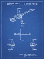 Blueprint Star Wars B-Wing Starfighter Patent Fine Art Print