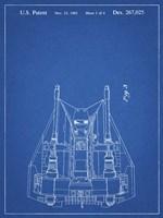 Blueprint Otoscope Patent Print Fine Art Print