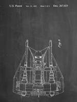 Chalkboard Otoscope Patent Print Fine Art Print