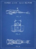Blueprint Star Wars Speeder Bike Patent Fine Art Print