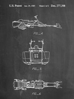 Chalkboard Star Wars Speeder Bike Patent Fine Art Print