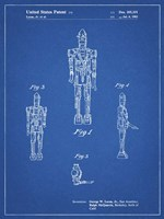 Blueprint Star Wars IG-88 Patent Fine Art Print