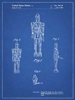 Blueprint Star Wars IG-88 Patent Fine Art Print