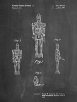 Chalkboard Star Wars IG-88 Patent Fine Art Print