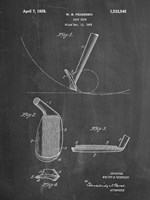 Chalkboard Golf Wedge 1923 Patent Fine Art Print