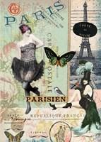 April in Paris Fine Art Print