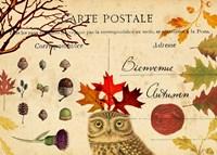 Bienvenue Autumn Fine Art Print