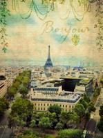 Bonjour Paris Fine Art Print