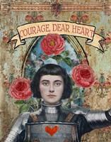 Courage Dear Heart Fine Art Print