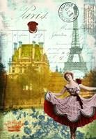 Rive Gauche Revue Fine Art Print