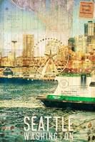 Seattle Ferry Dock Fine Art Print