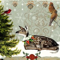 Winter Fawn Fine Art Print