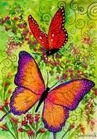Butterfly Sparkles Fine Art Print