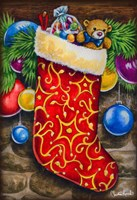 Christmas Stocking Fine Art Print