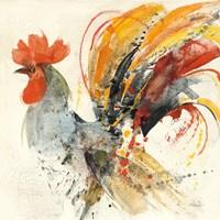 Festive Rooster II Fine Art Print