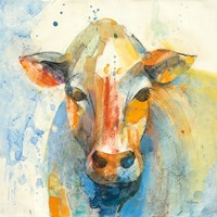 Happy Cows II Fine Art Print