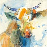 Happy Cows I Framed Print