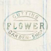 Floursack Florals XI Fine Art Print