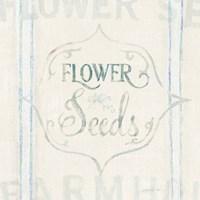 Floursack Florals IX Fine Art Print