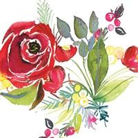Scarlett O Christmas V Fine Art Print