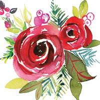 Scarlett O Christmas VI Fine Art Print