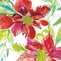 Poinsettia Pretty I Fine Art Print