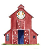 Life on the Farm Barn Element II Fine Art Print