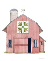 Life on the Farm Barn Element I Fine Art Print