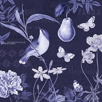 Botanical Blue V Fine Art Print